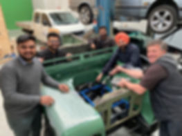 Jaunt Land Rover Electric Conversion