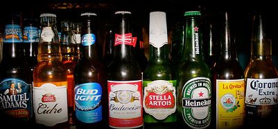 Picture of our bottled beers