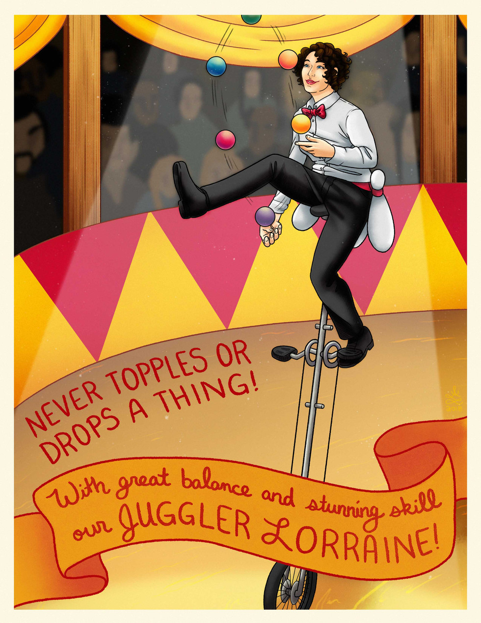 Juggler Lorraine
