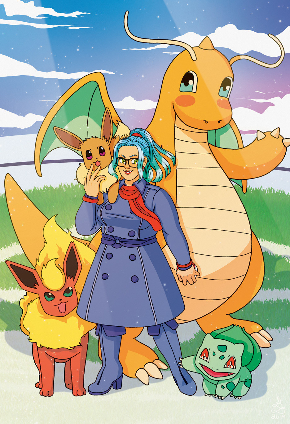 Pokemon Trainer Team