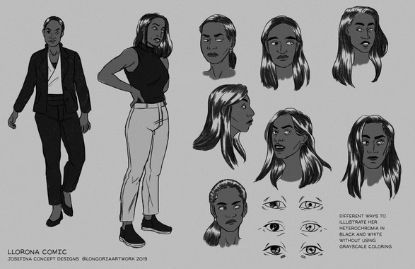 Josefina Concept - La Llorona Comic Private Commission