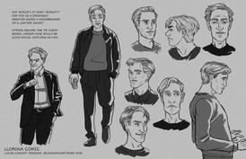 Lucas Concept - La Llorona Comic Private Commission