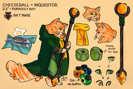 Cheeseball Outfit Concept - Private Commission