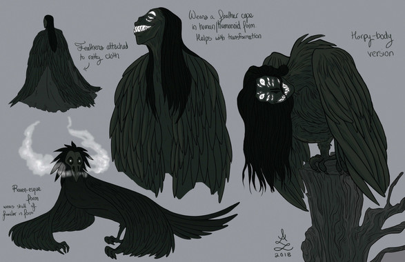 Bruja Transformation Concepts - Bruja, Local Haunts Anthology