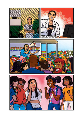 Alexandria Ocasio Cortez - Wonder Women of History Anthology