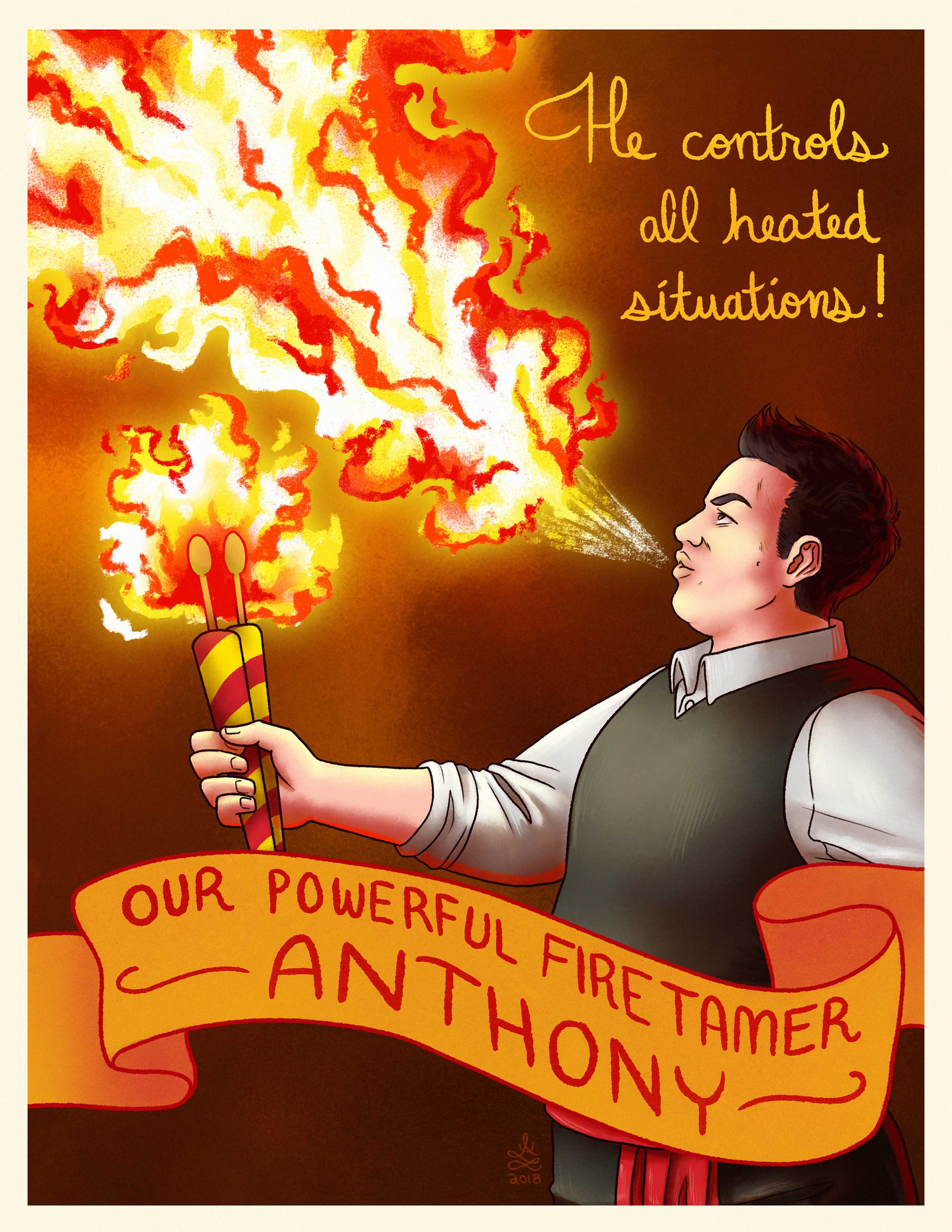 Fire Tamer Anthony