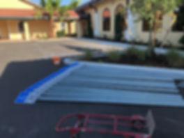 Signage Install | Naples, Florida | Paramount Asphalt SealCoating