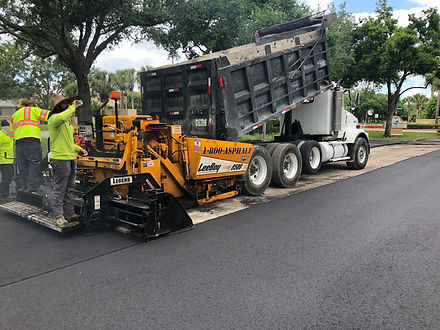Paving and Patching | Naples, Florida | Paramount Asphalt SealCoating