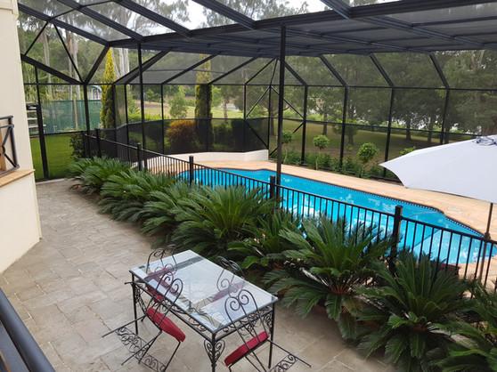 Swimming Pool Patio Enclosure Screen Repair