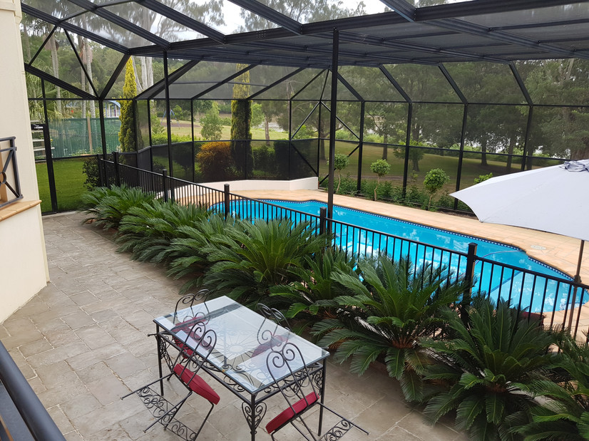 Swimming Pool Patio Enclosure Screen Repair