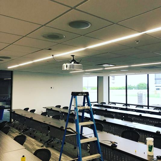 Training Room Installation