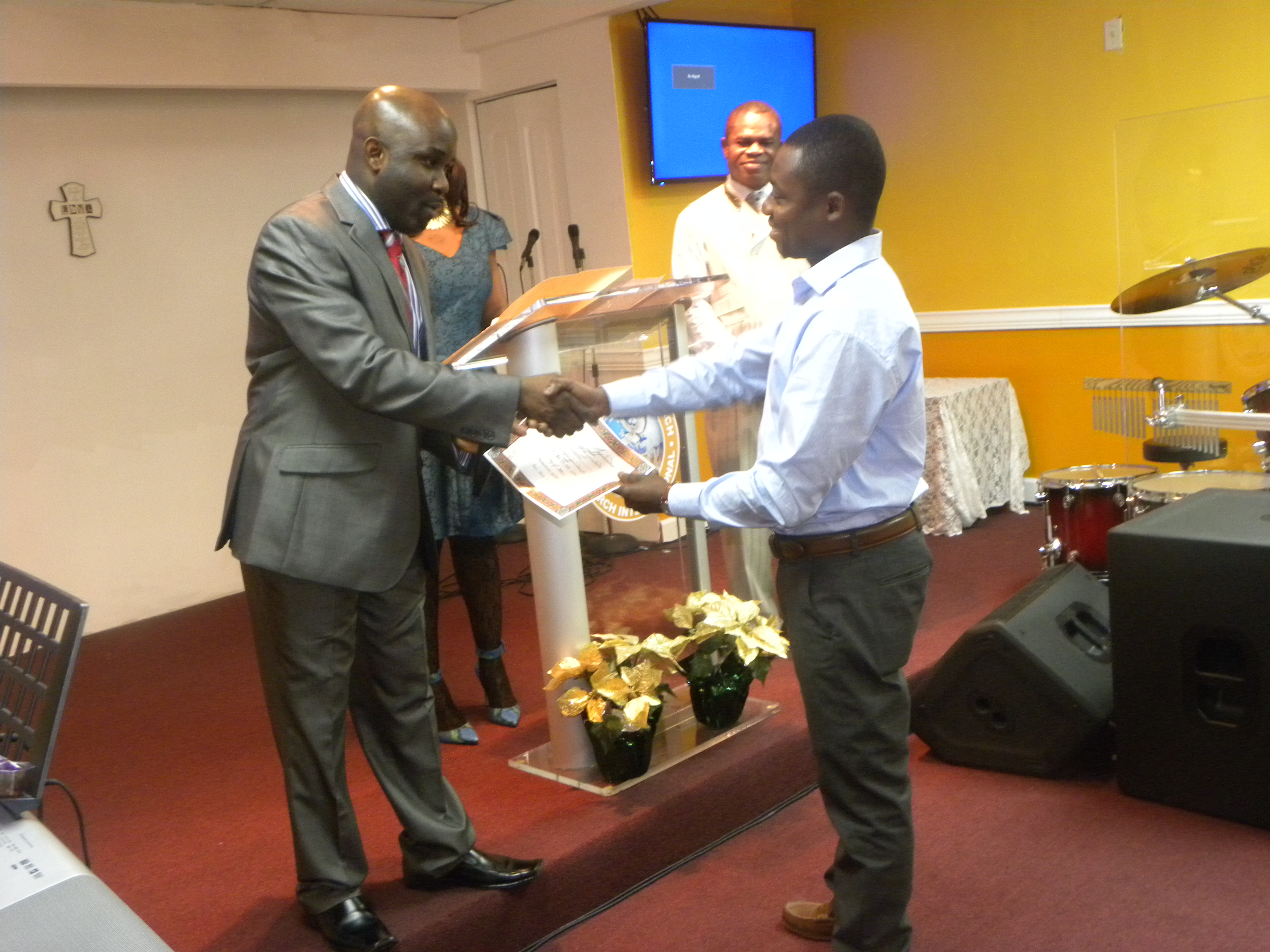 Appreciation - Serv. to the LORD