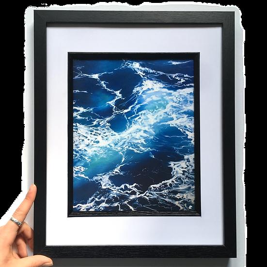 Sea Foam Print