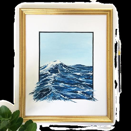 Spilling Ocean