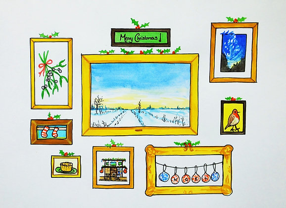Pack of 5 Christmas Exhibition