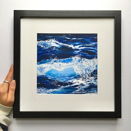 Ocean Wave Print