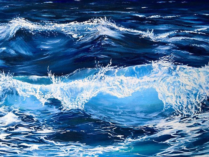 Ocean Wave Print (unframed - 8 x 10)