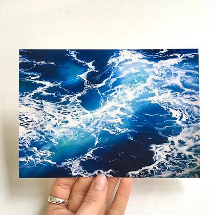 Sea Foam Print (unframed)