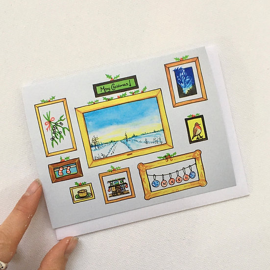 Pack of 5 Charity Christmas Exhibition Cards