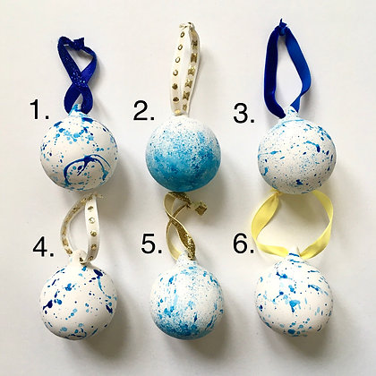 Blue Bauble Collection