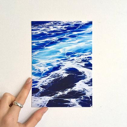 Boat's Wake Print (unframed)