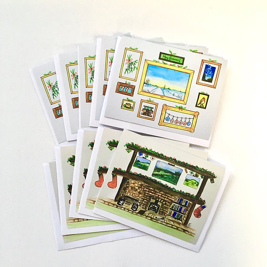Pack of 10 Charity Christmas cards