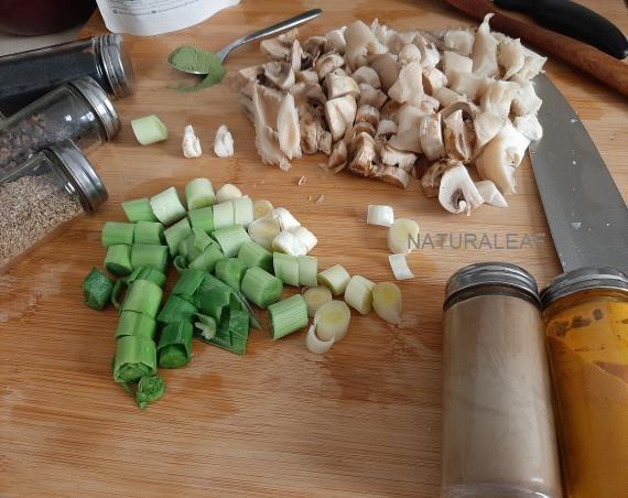 Siga estas instrucciones para un perfecto y saludable plato principal con Moringa.