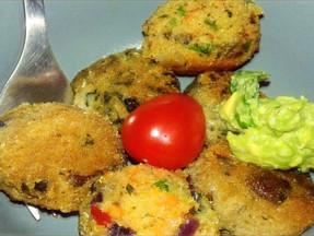 Moringa Recetas; Croquetas de Quínoa con Moringa y Verduras