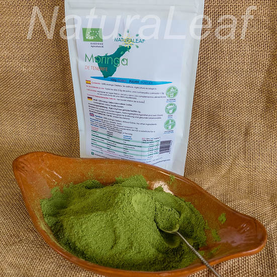 1 x pack of genuine Canarian Moringa powder