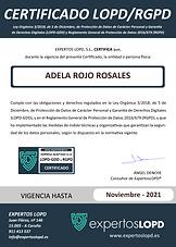 NaturaLeaf Data Protection Certificate