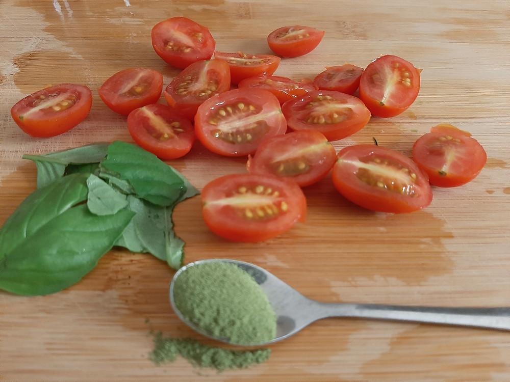 El polvo de Moringa Canaria NaturaLeaf puede ser usado para muchas recetas.