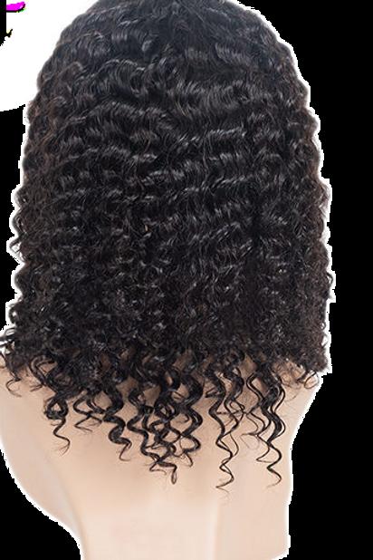 12A Deep Wave 180% Density Unit Closure Wig