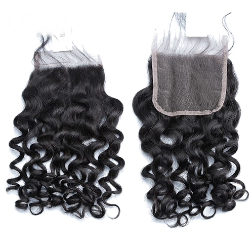 12A 4×4 Jerry Curl Virgin Unprocessed Hair Lace Closure Top Closure