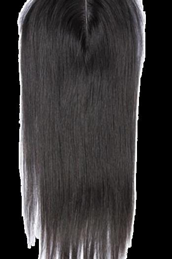 4×4 Straight Hair Virgin Peruvian Hair Lace Closure