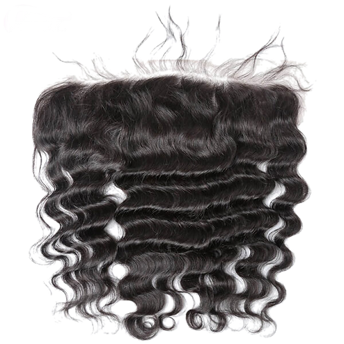 10A Loose Deep Hair Virgin Unprocessed XBL Lace Frontal Free Shipping