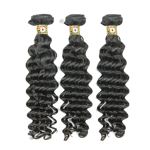 10A Deep Wave Full Cuticle Aligned Hair Extension Free Shipping USA
