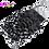Thumbnail: 12A 4×4 Jerry Curl Virgin Unprocessed Hair Lace Closure Top Closure