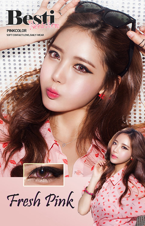 Color Lens Pinky