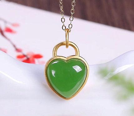 The Exemplary Jade - Cupid's Everlasting Love Pendant