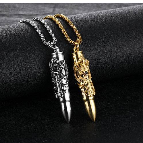 Dragon Bullet Pendant