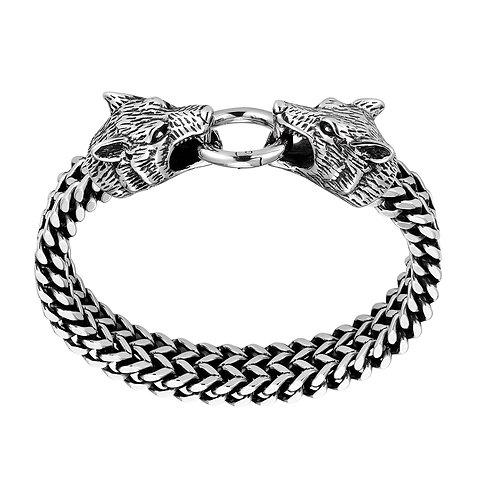 Wolf Shield Bracelet
