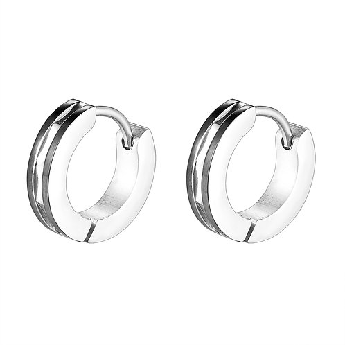 Surgical Steel Hoops Earring