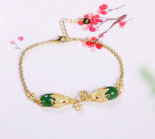 Prosperity Enchanter Pi-Xiu Ornamental Bracelet
