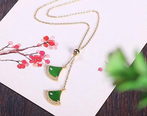 Luxe Axes Necklace