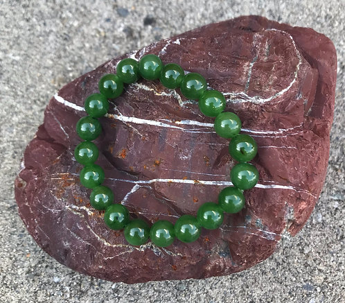 The Mindfuless Jade Bracelet