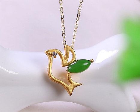 Trinket Bird Gold