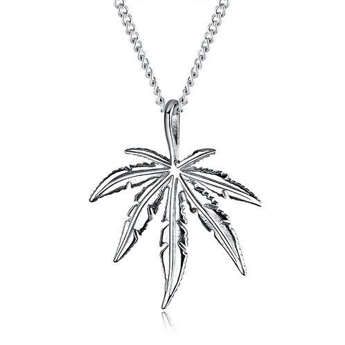 Banded Leaves Pendant