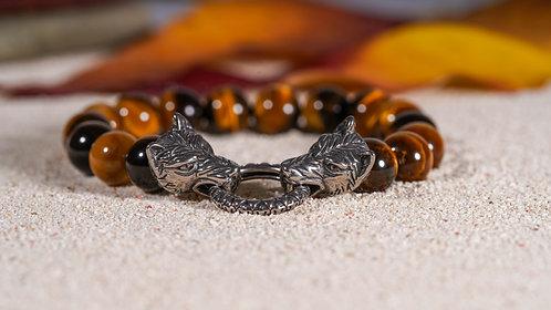 Tiger Shield  Bracelet