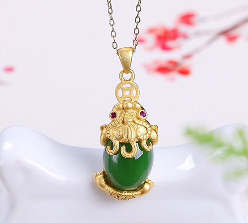 Prosperity Enchanter Pi-Xiu Ornamental Pendant