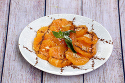 villa mogador_salade d'orange cannelle